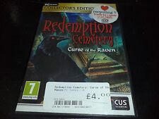 Redemption Cemetery: Curse of the Raven    pc game    hidden object