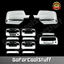 For Ford F-150 2004-2008 Chrome Mirror, Door Handle & Tailgate Cover