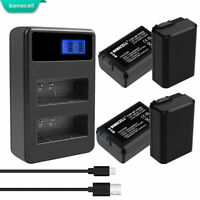 NEW NP-FW50 Battery OR Charger For Sony Alpha A6000 A6300 A6500 A7r A7 HT