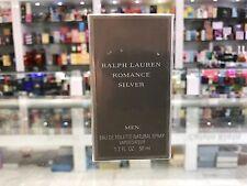 Ralph Lauren Romance Silver EDT Spray Men 50ml Brand New Sealed