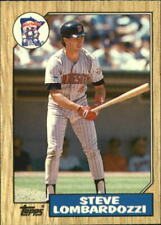 1987 Topps Traded Tiffany #66T Steve Lombardozzi - NM-MT+