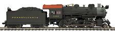HO MTH Die-Cast Pennsylvania H-10 2-8-0 2 Rail DC w/DCC, Sound, Smoke 80-3241-1
