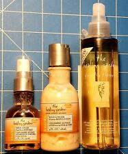 The Healing Garden Gingerlily Therapy 1~ 2oz. 1~7oz. Body Mist & 4oz. Lotion NEW