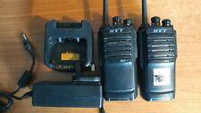 1 paire de Hytera HYT TC446S Licence Libre Talkie Walkie PMR446 Two Way Radios