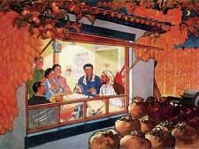 PROPAGANDA DELLA CINA COMUNISMO raccolto frutta grandi poster art print bb2327a