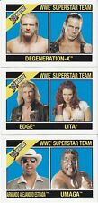 *Rare!* 2006 WWE Topps Heritage II COMPLETE BOX TOPPER JUMBO CARD SET OF 3