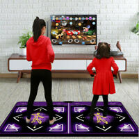 2 Player Wireless Somatosensory Dancing Dancer Dance Step Mat Pad Gaming Yoga PC