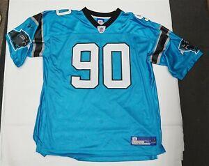 Reebok NFL Julius Peppers Carolina Panthers XL Jersey Blue #90 C0226