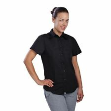 More details for chef works women's ladies cool vent chefs shirt short sleeved top - new features