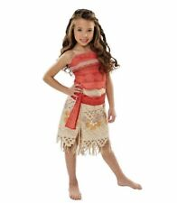 Disney Moana Girls Costume Movie Adventure Outfit Halloween Cosplay Hawaiian