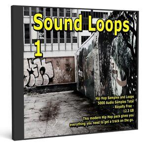 Sound Loops 1 Hip Hop Collection 5000 WAV Loops Music Sample Packs Audio Loops