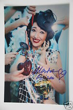 Marta Bizon 20x30cm  Bild + Autogramm / Autograph signed in Person