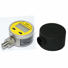 "Digital Pressure Gauge 2.5"" 250BAR/3600PSI(BSP1/4) Base Entry with Boot"
