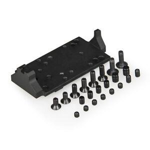 Red Dot Optic Mounting Platform for Glock Plate Base Mount Compatible Hunting