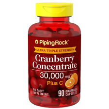 Ultra Triple Strength Cranberry 30,000 mg Plus Vitamin C 90 Caps