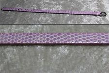 """1/4 scale doll belt 8.5"""" x .25"""" MSD BJD Dollfie Unoa Ellowyne Wilde Light Purple"""