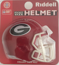 GEORGIA BULLDOGS NCAA Cupcake / Cake Topper Mini Football Helmet