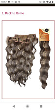 "Futura fashion source 22"" clip in hair extentions  body wave  613"