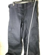 Dickies Blue Men's Relaxed Fit Cargo Pants Straight Leg Workwear Uniform 34x34