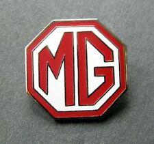 MG BRITISH AUTOMOBILE CAR LOGO LAPEL PIN BADGE 3/4 inch