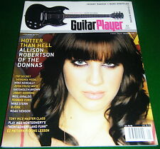 Hot Allison Robertson, Donnas, Gibson GA-20 Review, 2005 Guitar Player Magazine