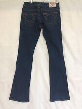 """True Religion Jeans Women's Size 26 Inseam 33"""" Skinny Boot Cut Low Rise HAWT ; )"""