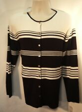 Jillian Jones  Women's Black and White Sweater Size 2Xlarge New with Tags