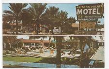 Arizona Palms Motel US Highway 60 Phoenix AZ Roadside America #1 postcard