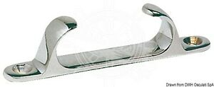 "Stainless Steel Fairlead 152mm 6"" Marine Grade 316 Boat Deck Yacht  FAIR152"
