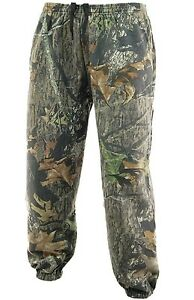 STEALTH TROUSERS mens tree camo fishing hunting shooting trek camouflage bottoms