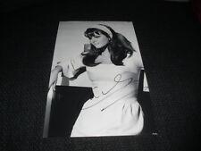 CLAUDIA CARDINALE signed Autogramm auf SEXY 20x30 cm Bild InPerson LOOK