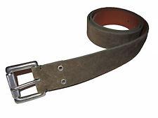 Black Label Ralph Lauren Polo Suede Leather Roller Buckle Belt 32