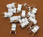 20-100pcs PCB Soldering Mount 5x20 5mm*20mm Fuse Holder Clip Tin Plated Brass