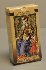 "GOLDEN TAROT OF THE RENAISSANCE - ""ESTENSI"" - CARD DECK - *NEW - SEALED*"