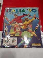 Album Calciatori Panini mondiali Italia 90 - VUOTO con figurine allegate