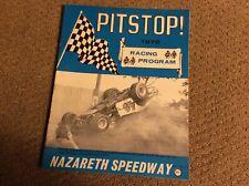 1975 NAZARETH SPEEDWAY PITSTOP PROGRAM Vol.1 No.13