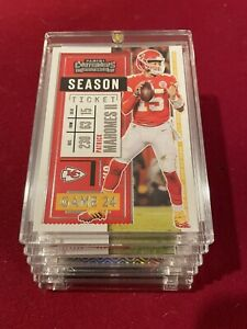 Patrick Mahomes PANINI CONTENDERS 2020 HOT CHIEFS FOOTBALL CARD INVESTMENT Mint!