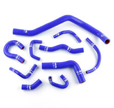 Silicone Coolant Radiator Hose Kit for 88-91 Honda Civic CRX D15 D16 EE EF BLUE