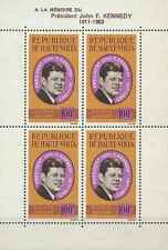 Timbres Personnages Kennedy Haute Volta BF2 ** lot 2947