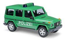 BUSCH 51410 Spur H0 Mercedes G 1990 Polizei #NEU in OVP#