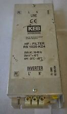 KEB Inverter HF-Filter RS1025-KD4 (D.235)