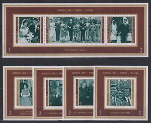 G832. Manama - MNH - Famous People - John F. Kennedy