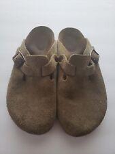 BIRKENSTOCK Women's Brown Leather Clog SZ 6 SZ 36