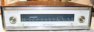 Sherwood S2100 AM/FM Stereo Tuner 1960's Tube Unit IGNORE SHIPPING