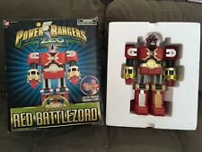 Vintage 1996 Bandai Saban Power Rangers Zeo Deluxe Red Battlezord In The Box