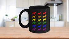 Cane Corso Mug Gift - Cane Corso Lgbtq Rainbow Love Coffee Mug - Cane Corso Dad