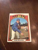 1972 Topps Tom Seaver New York Mets #445 Baseball Card