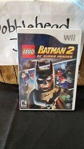 CIB LEGO BATMAN 2 DC SUPER HEROES NINTENDO WII VIDEO GAME