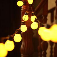 20X LED CATENA LUMINOSA LUCE STRINGA LAMPADINE ESTERNO INTERNO per Natale Xmas