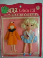 "SUPER SCARCE, HARD-TO-FIND VINTAGE UNEEDA TINY TEEN DOLL+ EXTRA DRESS "" DONNA L3"